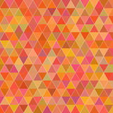 Vintage triangle background. Orange triangle backgraound textured patern vector illustration