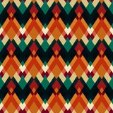 Vintage triangle seamless pattern Royalty Free Stock Photography