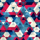 Vintage triangle seamless pattern Stock Photo