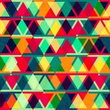 Vintage triangle seamless texture Royalty Free Stock Images
