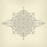 Vintage tribal background. Vintage tribal ethnic background, native american motifs Royalty Free Stock Images