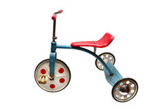 Vintage tricycle toy Royalty Free Stock Image