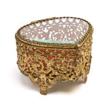 Vintage Trinket box Royalty Free Stock Photography