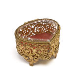 Vintage Trinket box Stock Photo