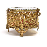 Vintage Trinket box Stock Images