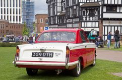 Vintage Triumph Herald family car Royalty Free Stock Photos