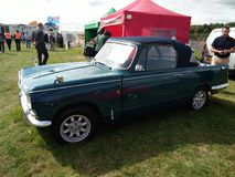 Vintage Triumph Vitesse car. Displayed outdoor at Northumberland Wings & Wheels festival at Eshott Airfield north of Morpeth, England, taken on August 20, 2017 royalty free stock images