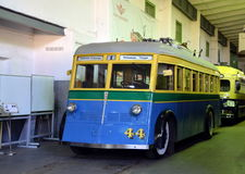 Vintage trolleybus Royalty Free Stock Photography