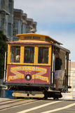 Vintage trolleys in San Francisco, Market Street Railway Co. Royalty Free Stock Photo