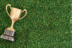 Vintage Trophy Royalty Free Stock Photography