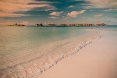 Vintage Tropical beach background Stock Photos