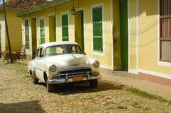Vintage tropical town - Trinidad Royalty Free Stock Photos