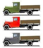 Vintage truck stock illustration