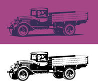 Vintage truck Royalty Free Stock Images