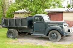 Vintage truck. Picture of an antic truck in an farm Royalty Free Stock Photos