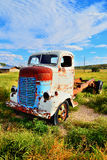 Vintage truck abandoned Royalty Free Stock Photo