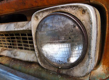 Vintage Truck Headlight Royalty Free Stock Photography