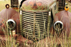 Vintage truck. Part of a vintage truck royalty free stock photos