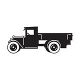 Vintage truck vector icon stock photography