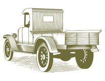 Vintage Truck Stock Photo