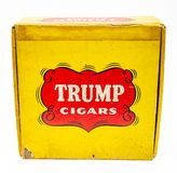 Vintage Trump cigars stock images