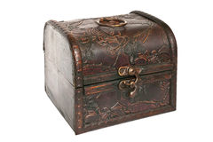 Vintage trunk Stock Image