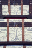 Vintage trunk Stock Photography