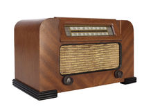 Vintage Tube Radio Royalty Free Stock Photo