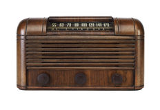 Vintage Tube Radio Royalty Free Stock Photography