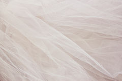 Vintage tulle chiffon texture background. wedding concept Royalty Free Stock Images
