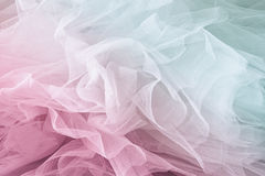 Vintage tulle chiffon texture background. wedding concept. vintage filtered and toned image Royalty Free Stock Photo