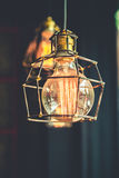 Vintage tungsten lightbulb Royalty Free Stock Image