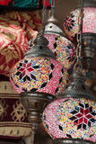 Vintage Turkish Lamp Stock Images