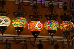 Vintage Turkish Lamp Stock Photo