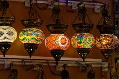 Vintage Turkish Lamp Stock Photo