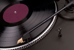 Vintage turntable Royalty Free Stock Images