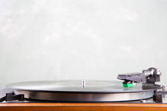 Vintage  turntable copyspace Stock Image