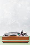 Vintage  turntable copyspace Stock Photo