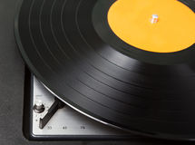 Vintage  turntable Royalty Free Stock Photography
