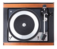 Vintage  turntable vinyl record player Royalty Free Stock Image
