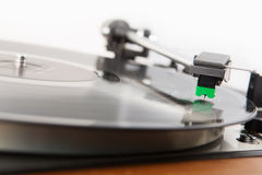 Vintage  turntable vinyl record player Royalty Free Stock Images