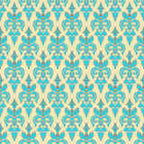 Vintage turquoise pattern Stock Photo