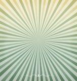 Vintage Turquoise with Sunburst and Grunge Background vector illustration