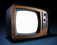 Vintage TV Royalty Free Stock Photo