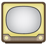 Vintage tv Royalty Free Stock Image