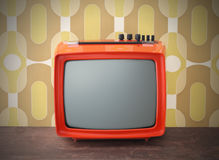 Vintage tv Stock Photography