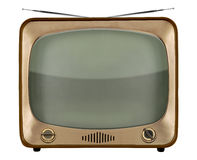 Vintage TV Royalty Free Stock Photography