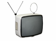 Vintage TV Stock Image