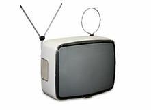 Vintage TV stock image