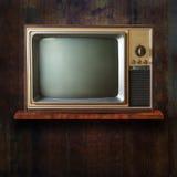 Vintage TV Foto de archivo libre de regalías
